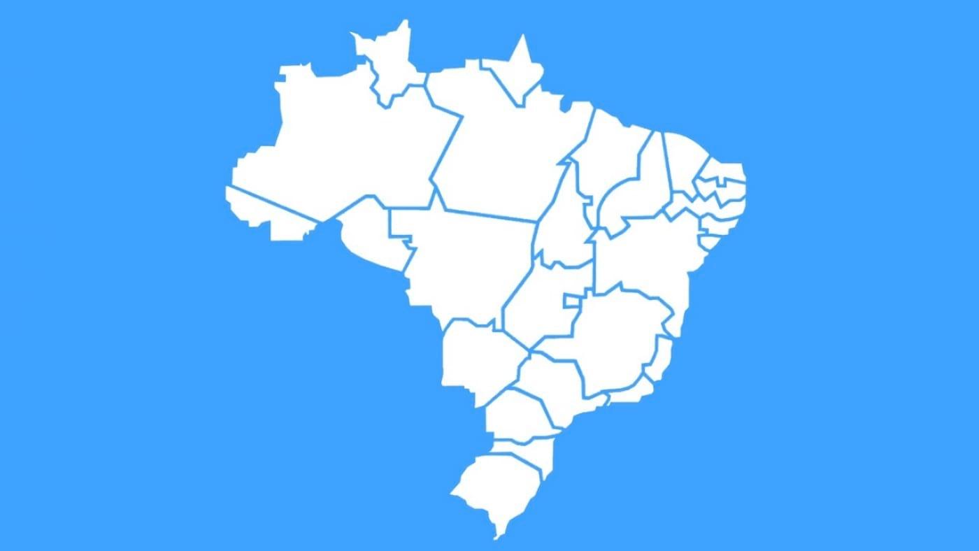 Os 10 maiores Estados do Brasil em território
